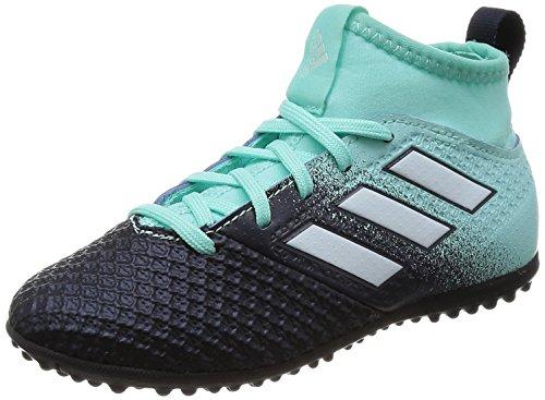 adidas Unisex-Kinder Ace Tango 17.3 TF J Fußballschuhe Mehrfarbig (Aquene / Ftwbla / Tinley)