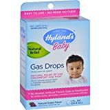 Hyland's Baby Gas Drops, Natural Grape Flavor, 1oz. Per Bottle (12 Pack)