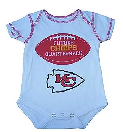 on sale 8f37d 1b8ff Amazon.com : Kansas City Chiefs Infant Onesie Size 6-9 ...