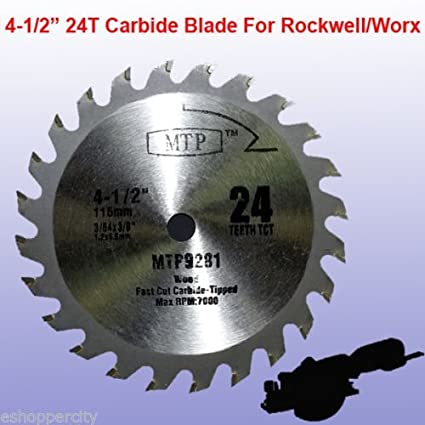 Tct 24t 4 12 45 inch carbide circular saw blade for rockwell tct 24t 4 12quot 45 inch carbide circular saw blade for rockwell greentooth Image collections