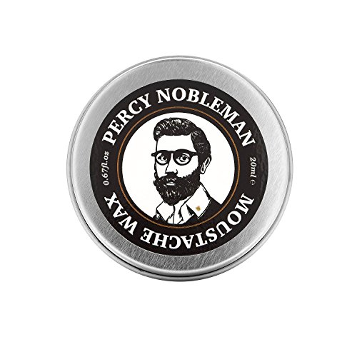 Percy Nobleman Mustache Wax From Fine Natural Ingredients