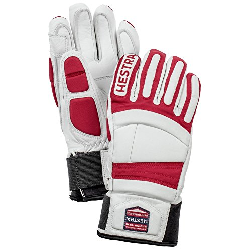 Hestra 30730 Unisex Impact Racing Jr. Gloves, Red - 5 by Hestra