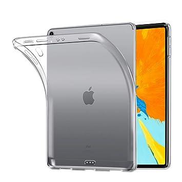 Funda iPad Pro 11 2018, Carcasa iPad Pro 11 2018, AVIDET Ultra Delgado Case Anti-rasguños Silicona TPU Cover Protectora Caso para iPad Pro 11 2018 ...