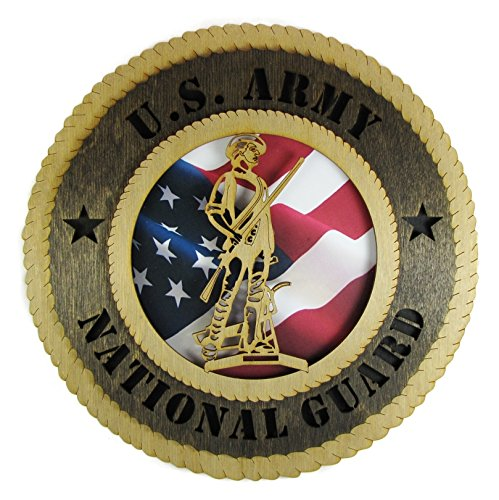 National Guard Wall Plaque