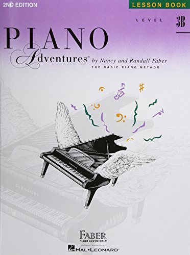 - Level 3B - Lesson Book: Piano Adventures