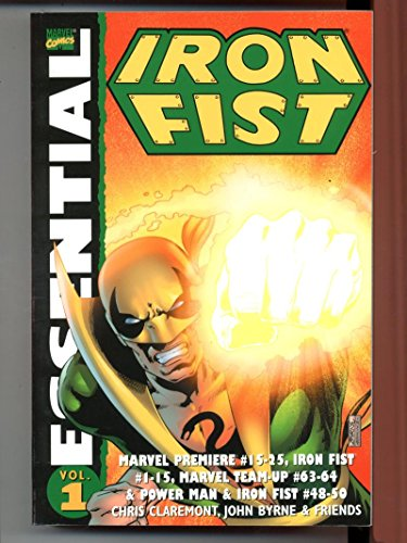 Essential Iron Fist Vol 1 Marvel 2004 First - Printing Essential