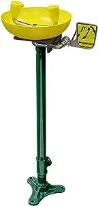 Speakman, Yellow SE-583 Traditional Series Pedestal-Mounted Emergency Eyewash
