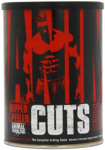 Universal Nutrition Animal Cuts, Ripped and Peeled Animal Training Pack, Sports Nutrition Supplement, 126 Servings