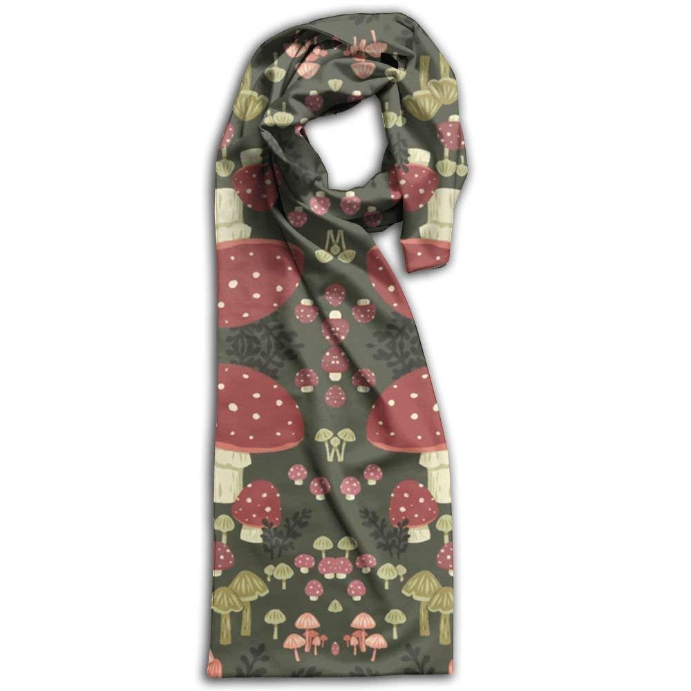 Mushrooms Winter Warm Soft Chunky Large Blanket Wrap Shawl Scarf YMCXS7O0598NY5PYE388