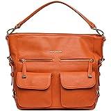 Kelly Moore 2 Sues 2.0 Camera / Tablet Bag with Shoulder & Messenger Strap (Orange) includes Removable Padded Basket