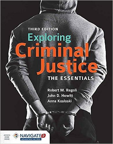 Amazon com: Exploring Criminal Justice: The Essentials