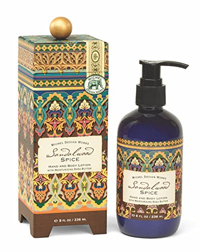 Michel Design Works Hand and Body Lotion, 8-Ounce, Sandalwood ()