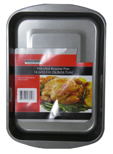Cooking Concepts Nonstick Roaster Pan - 14.5x10.5 in