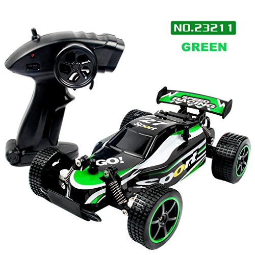 GBSELL 1:20 2.4GHZ 2WD Radio Remote Control Off Road RC RTR Racing Car Truck (Green)