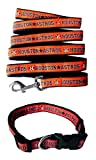 Houston Astros Nylon Collar and Matching Leash for Pets (MLB Official by Pets First) Size Large