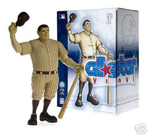 (Upper Deck Authenticated All Star Vinyl Figure Babe Ruth Sepia Colored Limited to 500 Pieces)