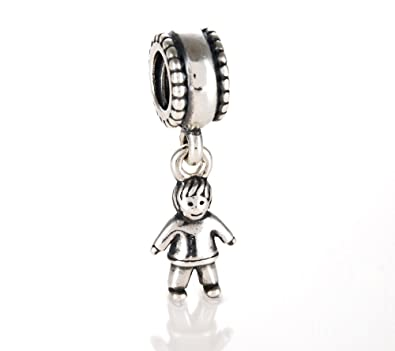 charm plated birthstone pin little gold silver boy in pendant sterling two tone