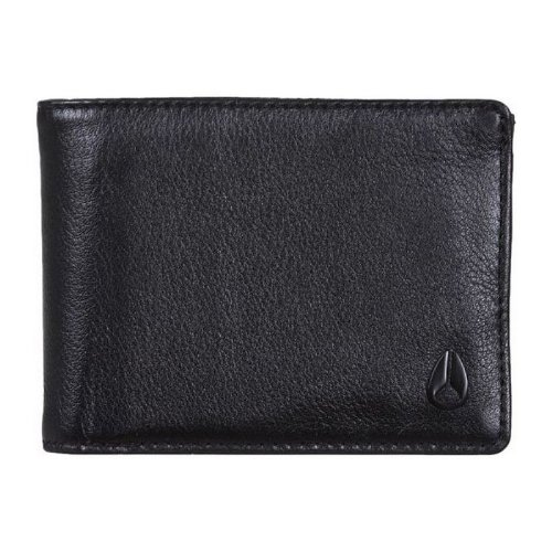 Nixon Men's Pass 3 in 1 Wallet, All Black, One Size ()