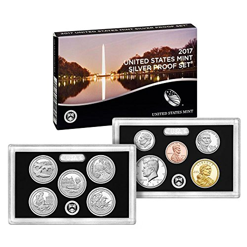 2017 S US Mint Silver Proof Set (17RH) OGP (Mint Us Silver Coins)