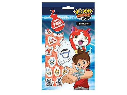 Yo Kai Watch 700 Stickers, Blue