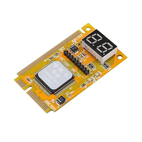 SUKRAGRAHA 2-Digit Portable Computer PC Mini PCI PCI-E LPC Laptop Analyzer Tester Mother Board Debug Checker Diagnostic Card