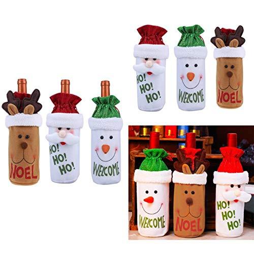 ... Wine Bottle Cover Bags Dinner Table Navidad 2017 Envio - Por Contorno Mochilas Zapatos Maquillaje Ropa Peru Dolar Palmolibe Impuestos - - Amazon.com