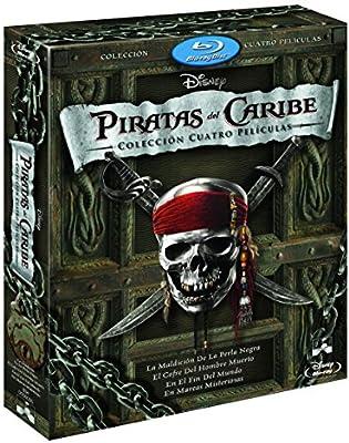 Duopack: Piratas Del Caribe 1-4 + Bonus Disc Blu-ray: Amazon.es ...