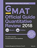 GMAT Official Guide 2018 Quantitative Review: Book/Online