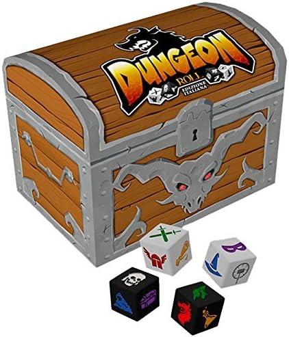 Raven – Dungeon Roll – Edición Italiana , Modelos/colores Surtidos, 1 Unidad: Amazon.es: Juguetes y juegos