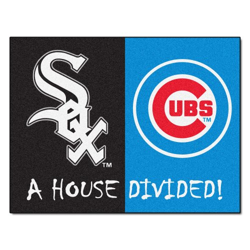 FANMATS MLB House Divided Nylon Face House Divided Rug ()