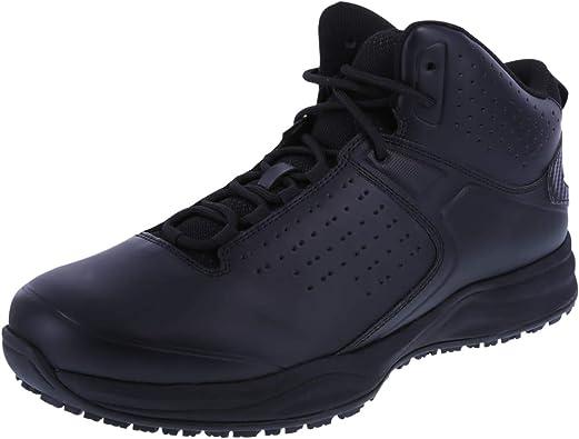 Slip Resistant Trifecta Mid-Top Sneaker