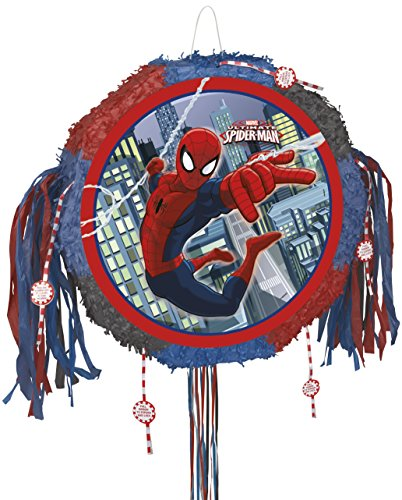 Spiderman Pinata, Pull String