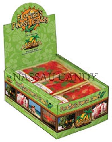 Florida 4 Oz. Baby Gummi Gators, Gold Tray - Pack Of 15