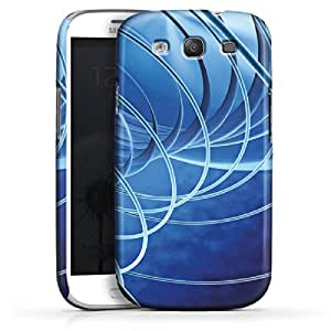 Carcasa Design Funda para Samsung Galaxy S3 i9300 / LTE i9305 PremiumCase white - Hoolahoop