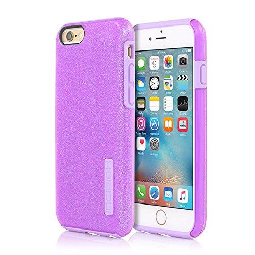 buy online 90e0a f2f97 iPhone 6/6s Case, Incipio [Hard Shell] [Dual Layer] DualPro Glitter Case  for iPhone 6/6s-Purple