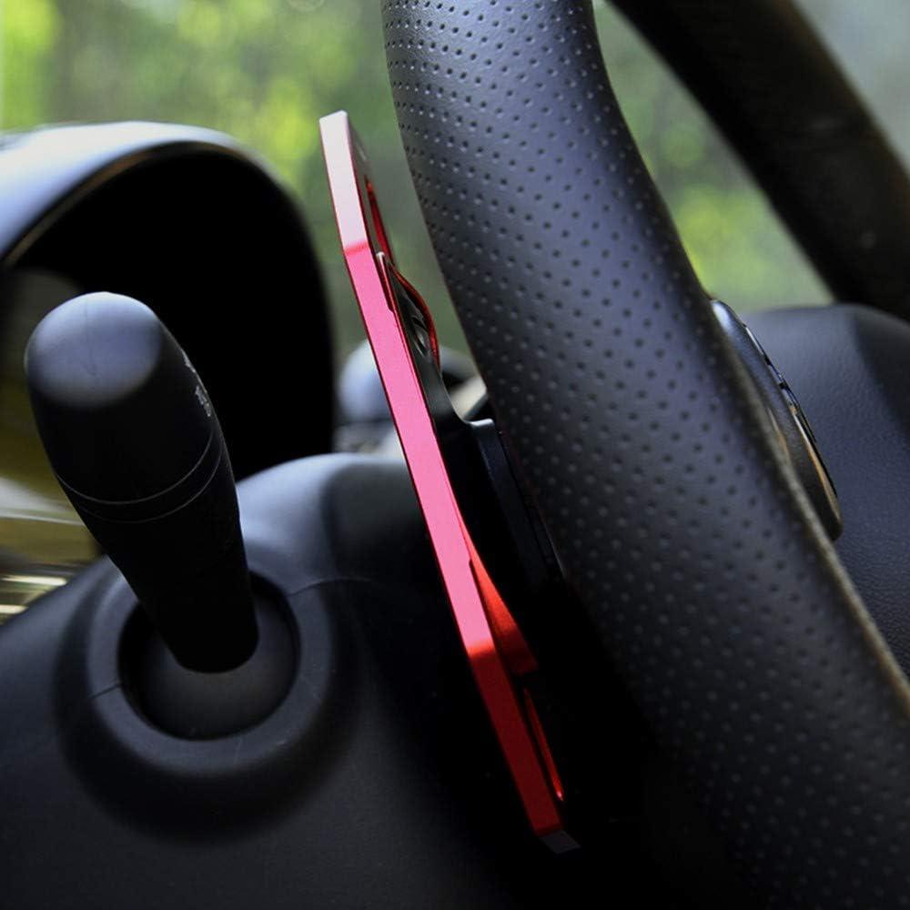 CYBHR rallonge de Palette de Volant de Voiture pour Benz Smart 451 453 fortwo 2009-2017 forfour 2015-2017