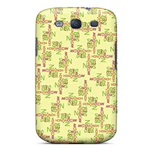 Shock Absorbent Cell-phone Hard Covers For Samsung Galaxy S3 (tkL8700POac) Unique Design Fashion The Jungle Book Skin