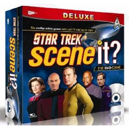 (Screenlife Games Scene It?  Deluxe Star Trek Edition)
