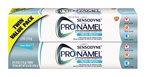 Special Effect Teeth (Sensodyne ProNamel Fresh Breath Toothpaste, 2 Pack of 4 Ounce Tubes (8 Ounces Total))