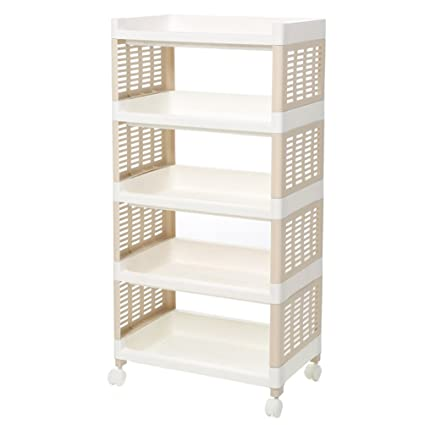 Fine Amazon Com Teerfu 5 Tier Kitchen Bathroom Storage Shelf Interior Design Ideas Lukepblogthenellocom