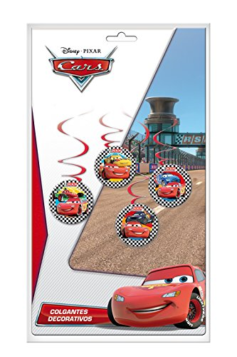 Cars - 4 colgantes (Verbetena 014000641)