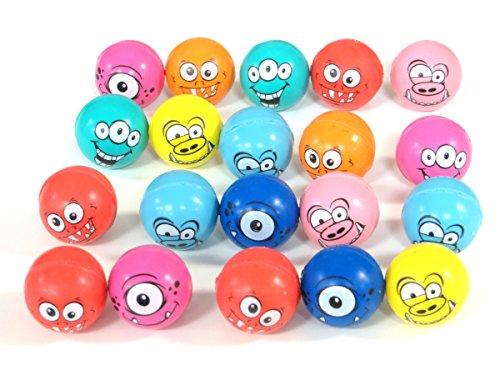 Edison Novelty Monster High Bounce Balls (20 Per Order) 25mm]()