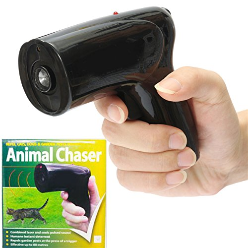 New Portable Ultrasonic Dog Repeller Chaser Stop Barking Animal Protect Dog Training