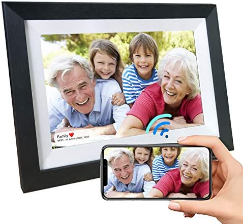 NPET Smart LCD Digital Picture Frame WiFi 10.1 Inch 16GB