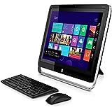 "HP Pavilion TouchSmart 21-h013w AIO Desktop PC, Intel Pentium G3220T Processor, 4GB Memory, 21.5"" Touchscreen IPS Display 1920X1080, 1TB Hard Drive, SuperMulti DVD Burner, Windows 8.1, Free Upgrade to Windows 10"