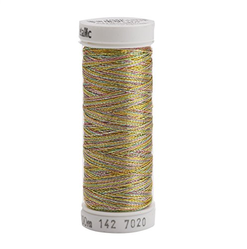 (Sulky Metallic Thread for Sewing, Multi Color)
