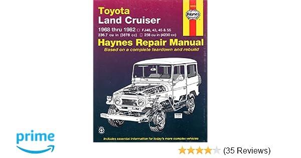 Toyota land cruiser fj40 43 45 55 60 6882 haynes repair toyota land cruiser fj40 43 45 55 60 6882 haynes repair manuals haynes 9781563920233 amazon books fandeluxe Gallery