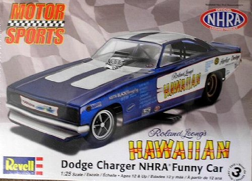 Revell Roland Leong's Hawaiian Dodge Charger NHRA Funny Car 1/25 Scale Model Kit