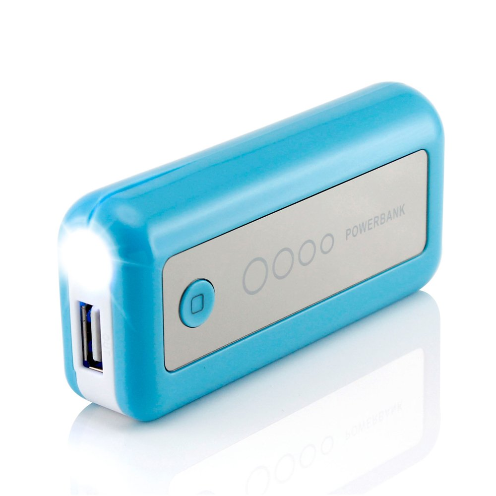 Gearonic 5600mAh Universal Power Bank Backup External Battery Pack Portable USB Charger, Orange Grace Marketing Company - CA 5449-ORANGE-CHAR
