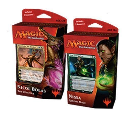 Magic MTG Hour Of Devastation Planeswalker Decks Set: Nicol Bolas & Nissa